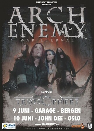 Arch Enemy Triosphere Poster 430x600