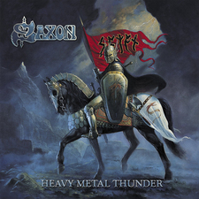 Saxon Heavy Metal Thunder Bloodstock Edition Cover