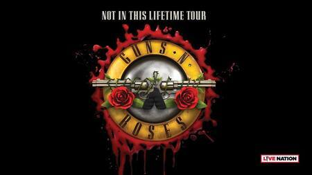 Gunsn Roses 2018 Turne